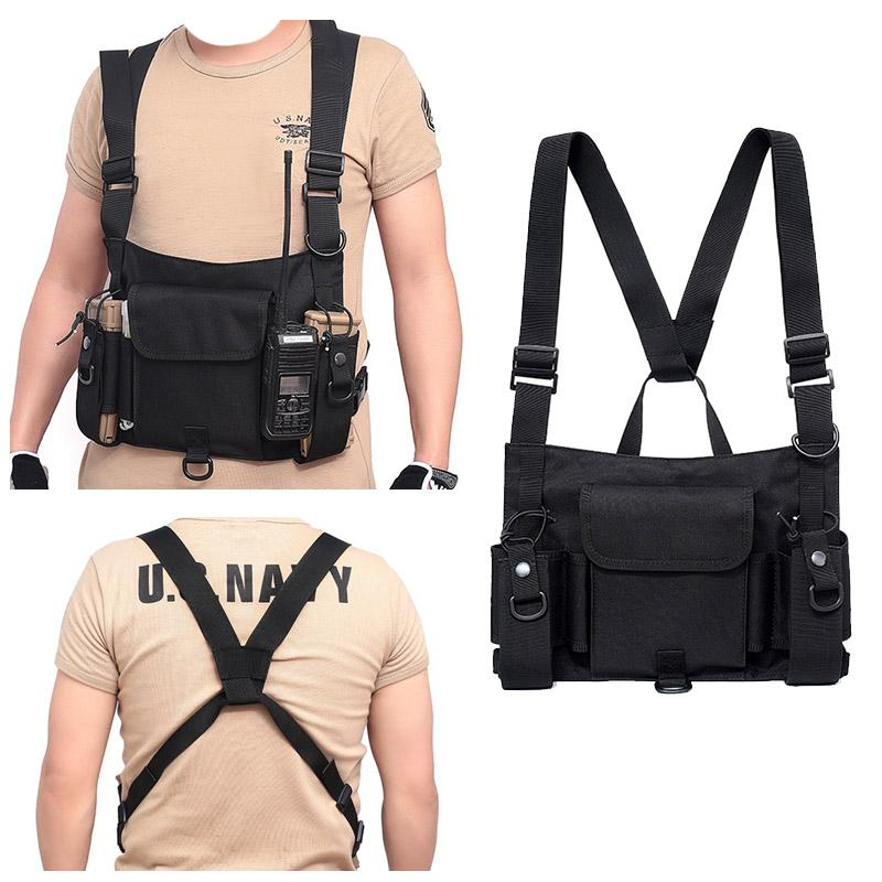 Tactical pocket new multi-function bag waterproof wear sports chest bag