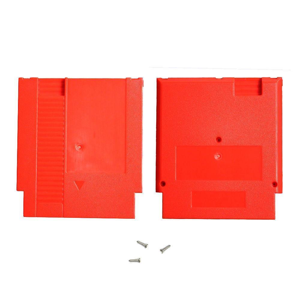 Жесткий пластиковый корпус картридж Shell замена корпуса для NES игровой карты адаптер 60Pin к 72Pin конвертер карты DHL FEDEX EMS бесплатная доставка
