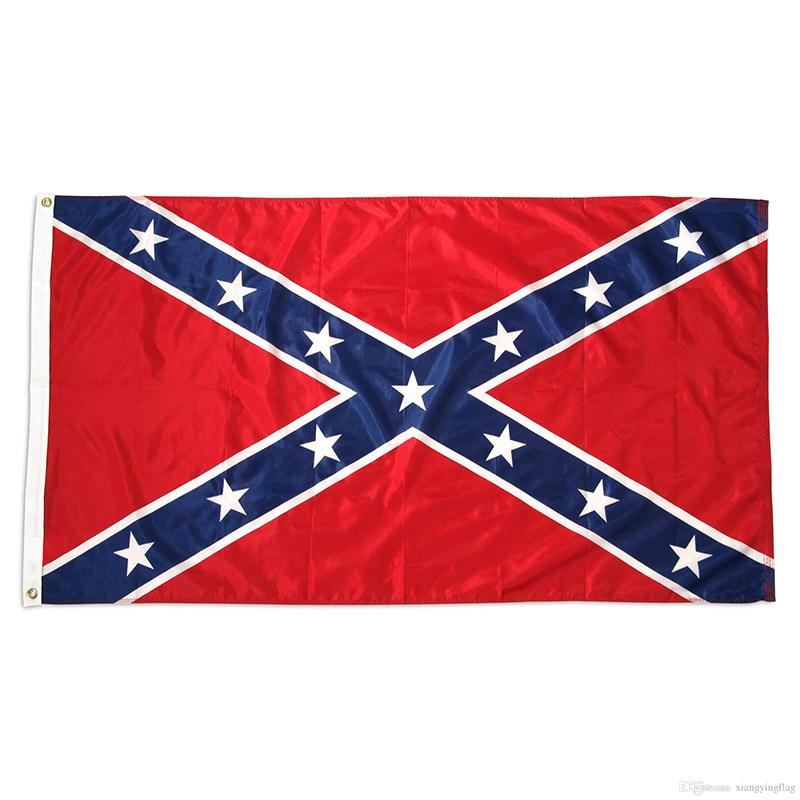 3x5 ft Civil War Army Flag American Election Flags Polyester Flying Banners Flag Decoration 90*150cmXD21666