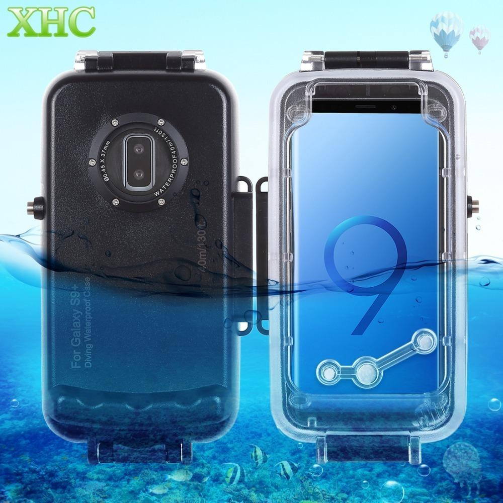 Haweel 40m/130ft Waterproof Diving Housing Photo Video Taking Underwater Cover Case For Galaxy S9 S9+ Smartphone J190701