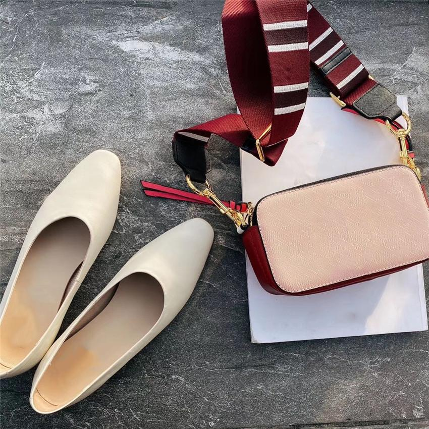 Роскошные сумки на ремне Высокое качество цветной плечевой ремень Plain Mini # CFY2002222