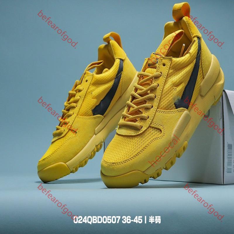 2020 Tom Sachs x Craft Mars Yard 2.0 TS NASA Schuhe Damen Herren Natürliche Sport Rot-Turnschuh-Designer-Schuh Zapatillas Vintage-Rennen