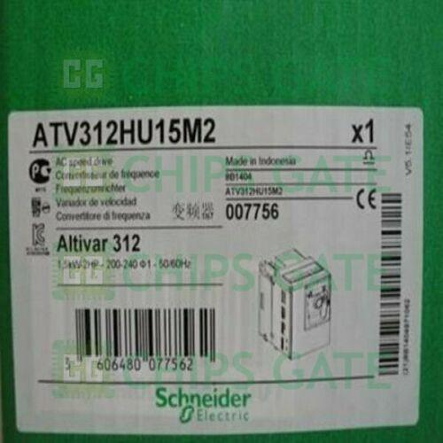1PCS nuevo en caja Schneider ATV312HU15M2,0.5KW 200 240 Fast Ship