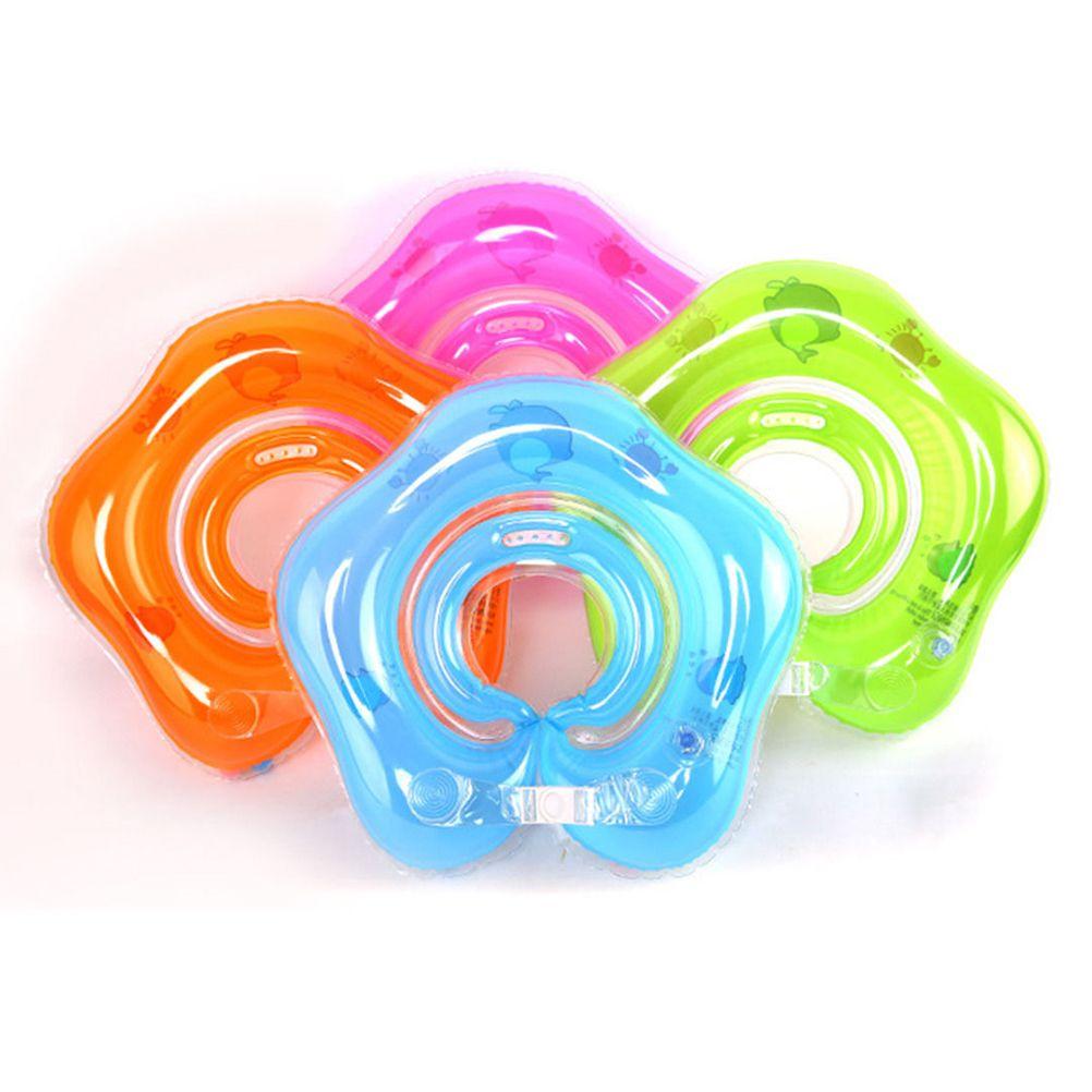 Новой продажа Детские Float кольцо Надувного Новорожденный Младенец шея Плавание Float Круг кольцо