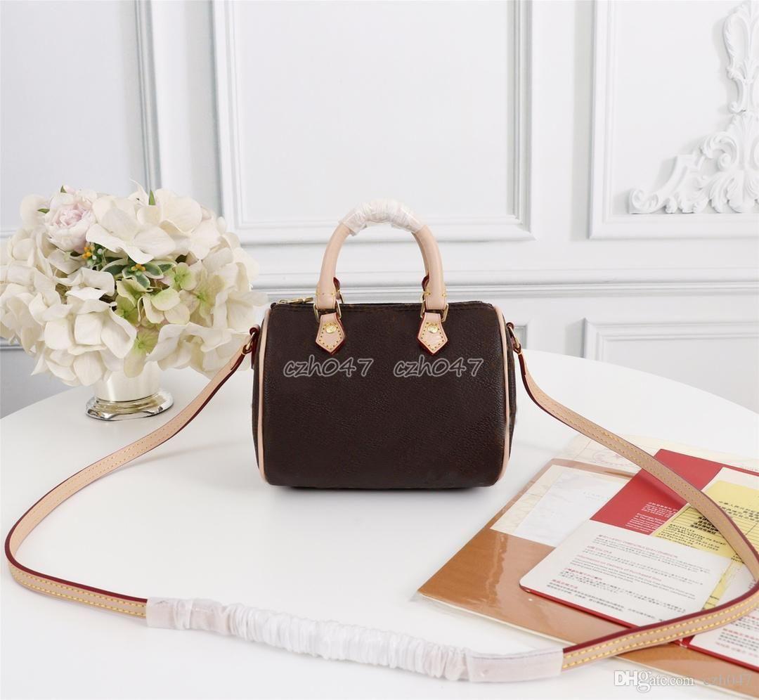 Venta mujeres bolsa de mini Metropolis señoras de bolso de cuero verdadero mensajero de las mujeres bolsos de los bolsos de las mujeres del bolso de Crossbody M61252