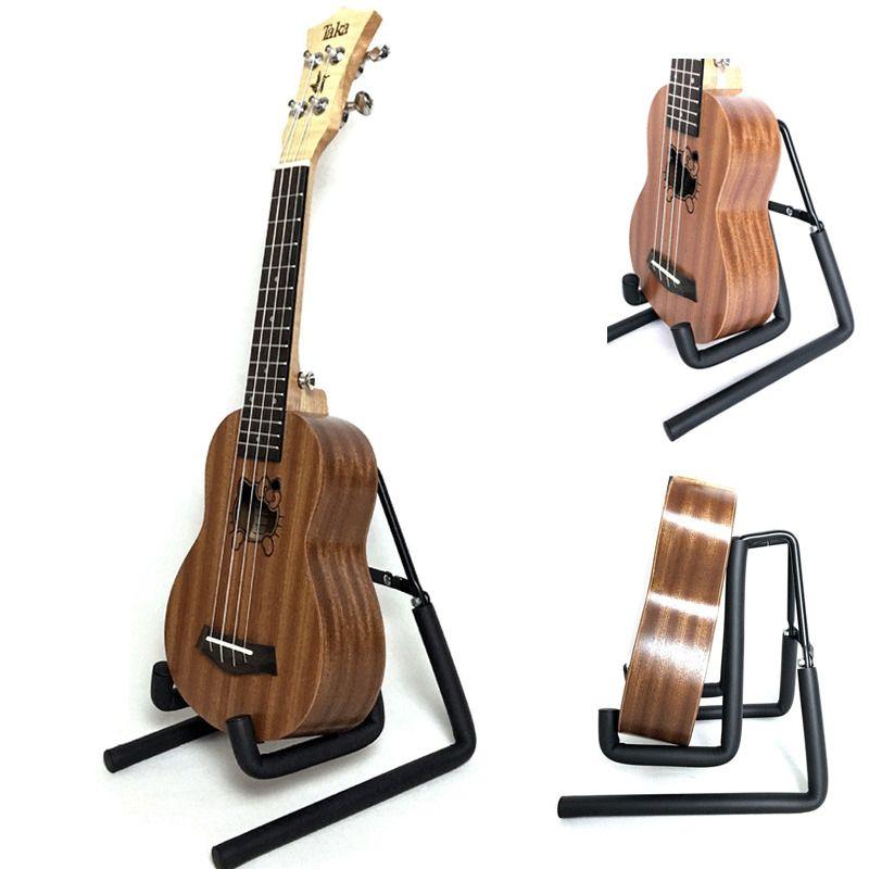Katlanır Metal Gitar Müzik Elektrik Akustik Taşınabilir Bas Cello Yaylı Enstrüman Standı Tutucu Stand