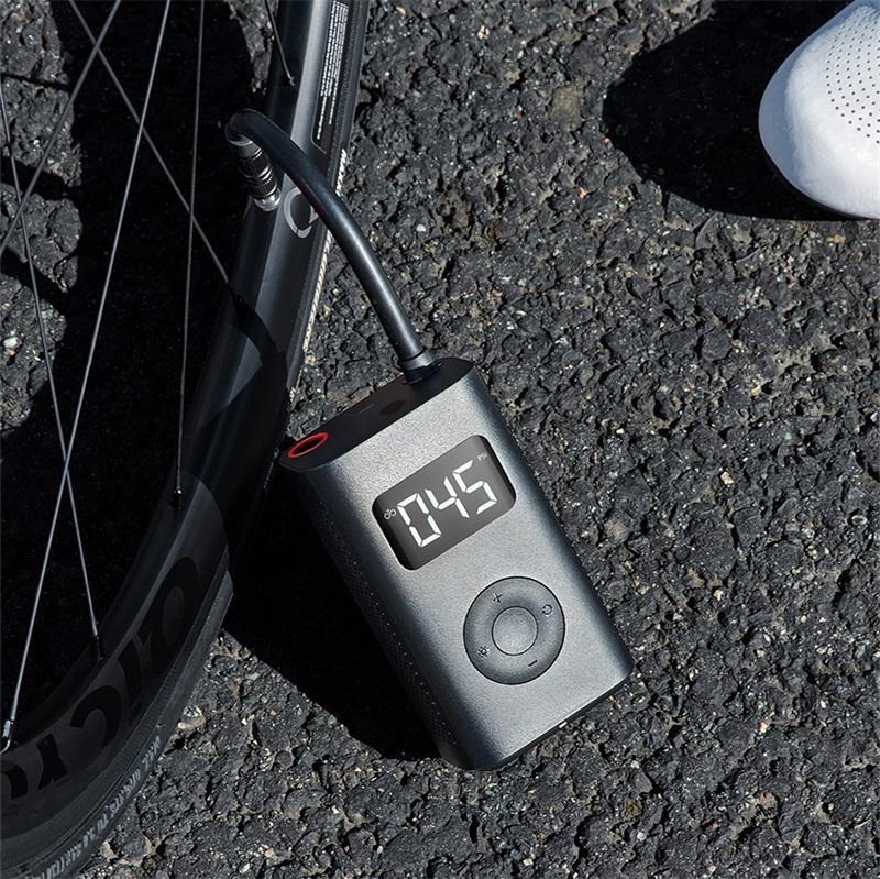 Xiaomiyoupin 전기 팽창기 펌프 휴대용 스마트 디지털 타이어 압력 자전거 오토바이 자동차 축구에 대한 검색 풍선 펌프