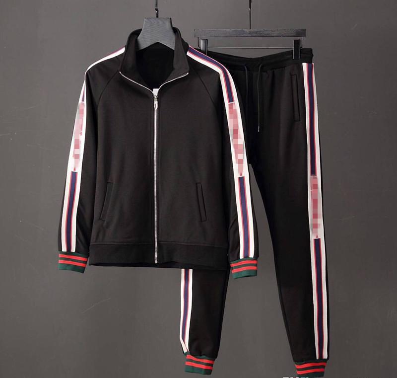 Survêtement Vestes COURIR Survêtements Medusa Hommes Sport Mode Costume de luxe hommes Lettre d'impression Sweats Vêtements de sport