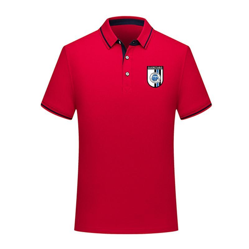 Керетаро 2020 Бизнес случайные Polos Уютные футбол рубашка поло мужчин короткий рукав поло футбол обучение мужчин рубашки поло