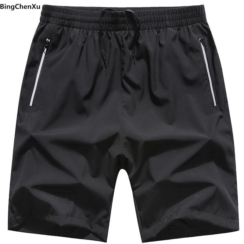 Bañadores para hombre tamaño 6XL 7XL 8XL verano de secado rápido pantalones cortos Marca corta ocasional de los hombres shorts de playa pantalones cortos masculinos transpirable troncos