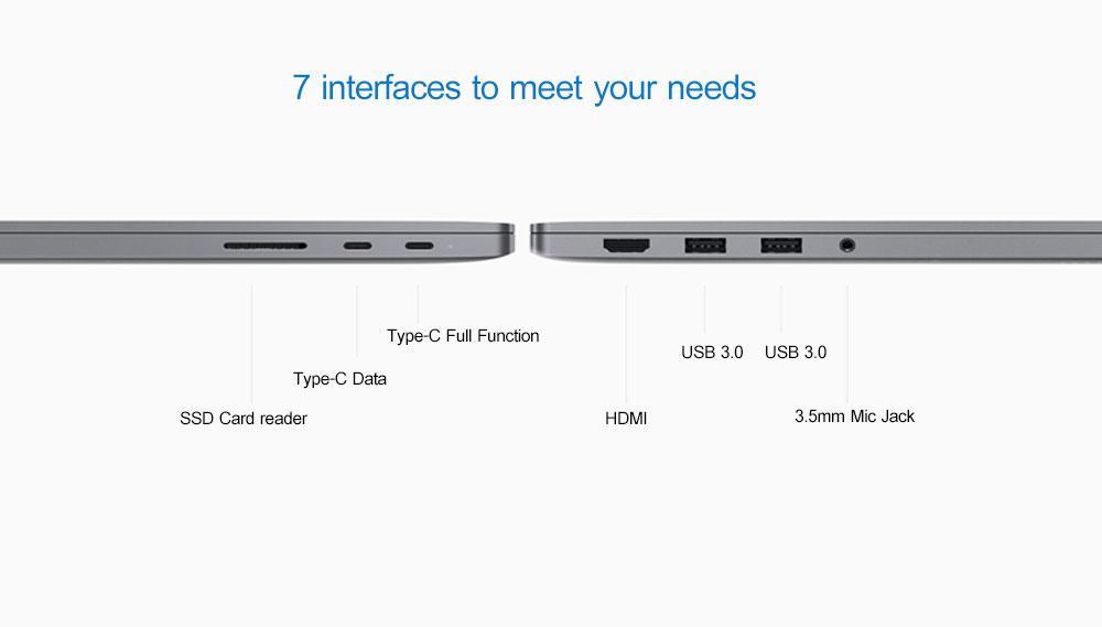 Original Xiaomi Mi Notebook Air 15.6 Inch Laptop Intel Core i5-8250U CPU 8GB 256GB SSD Fingerprint Unlock 3.4GHz Windows 10 ok (6)