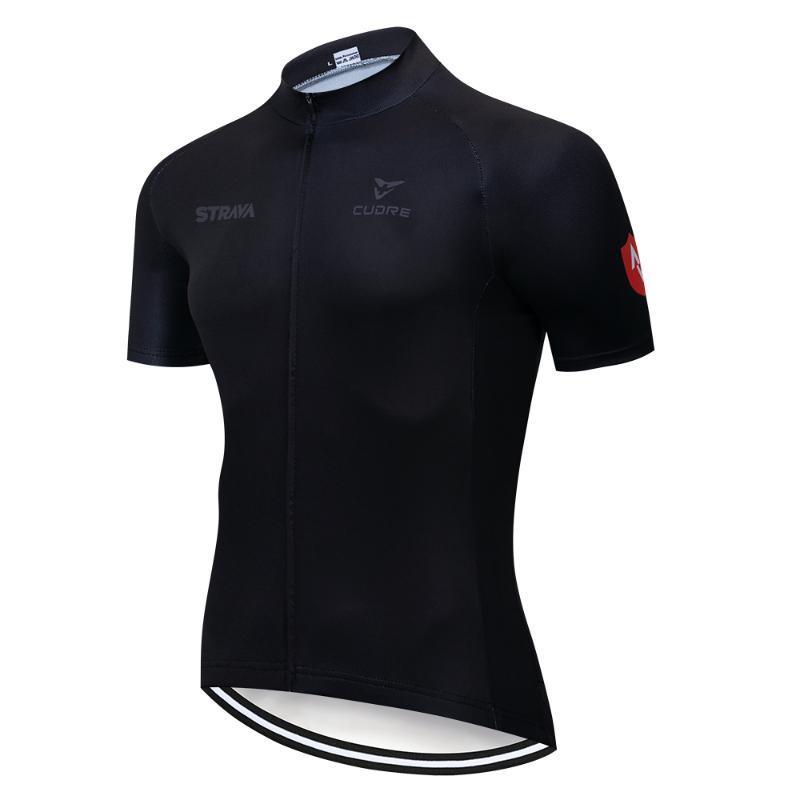 Strava 2019 Breve Jersey Cycling Jersey Ropa de Ciclismo Maillot ITALIA vestiti di riciclaggio bicicletta copre
