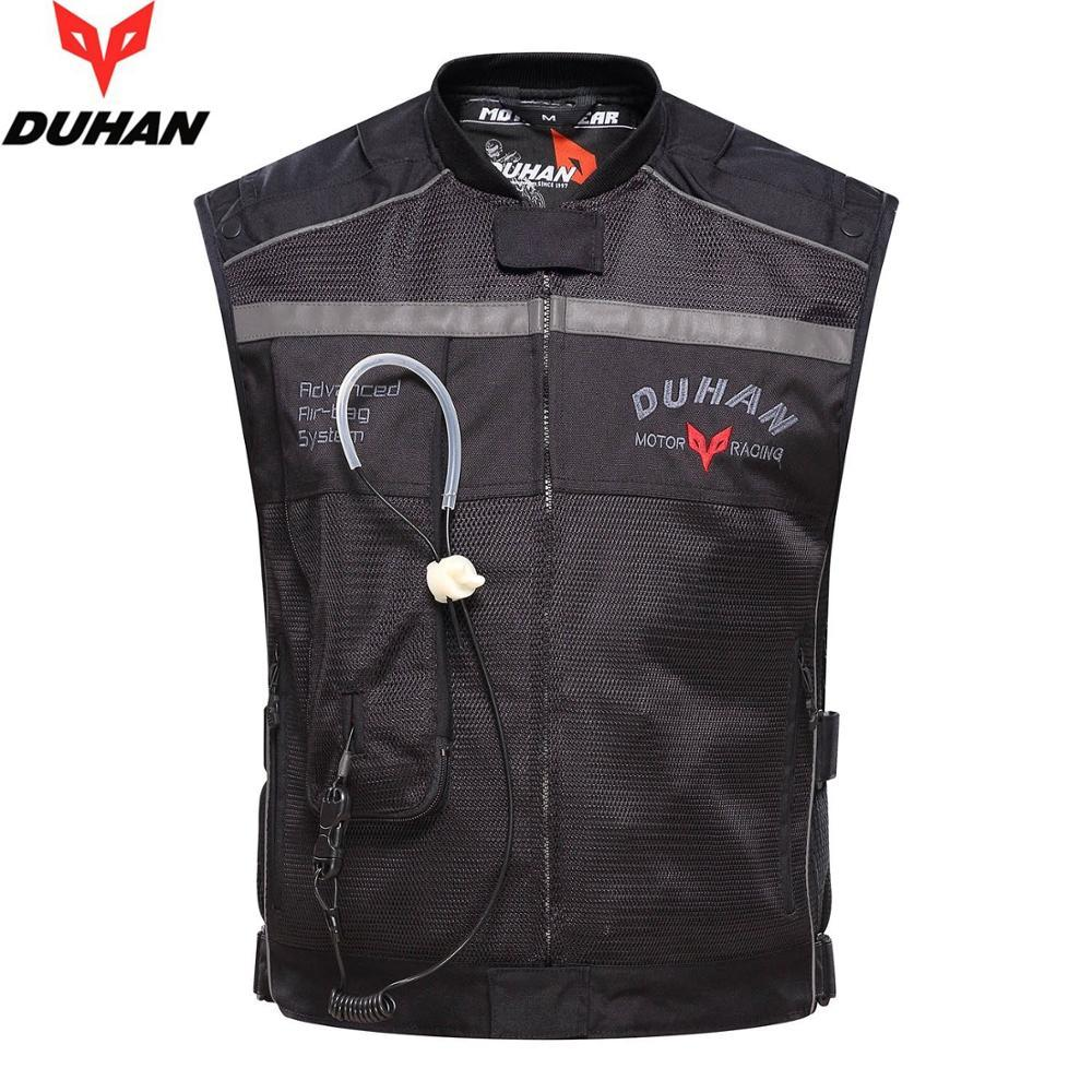 Motorcycle Air-bag Vest Moto Racing Professional Advanced Air Bag system motocross protective airbag BLACK, L
