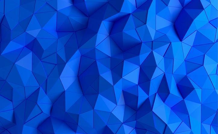 papéis de parede azul simples abstrata moderna 3d estéreo TV parede do fundo 3d estereoscópica wallpaper