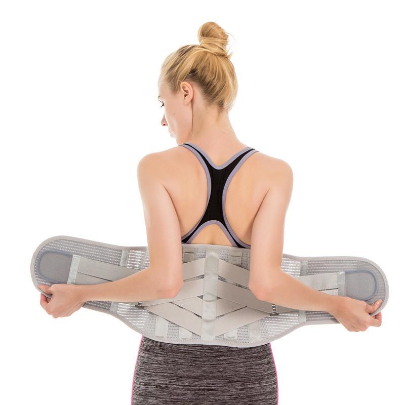 Los apoyos traseros más bajos para la correa de compresión Alivio del dolor de espalda lumbar ayuda de la cintura Backbrace para la hernia discal, ciática, escoliosis