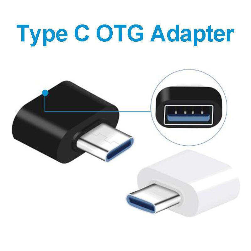 USB 3.0 C Tipi OTG Kablo Adaptörü Tip C USB-C OTG Dönüştürücü Huawei Samsung Fare Klavye USB Disk Flaş Yok Paketi