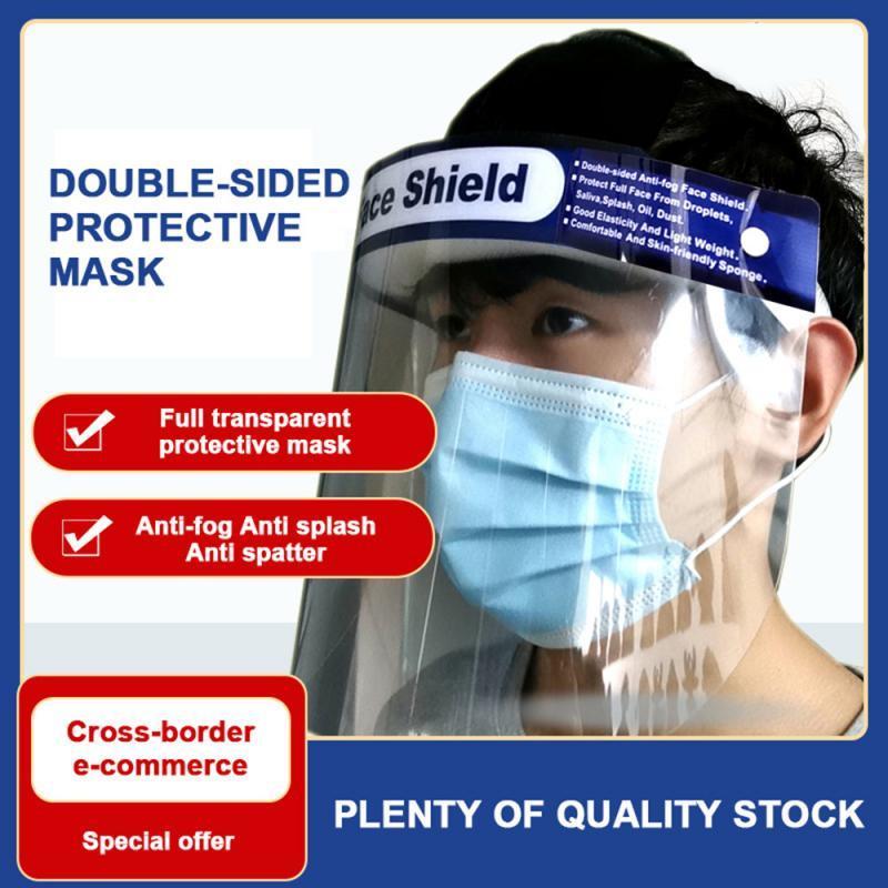 Прозрачный лицевой щиток полный лицевой щиток Маска лист глаз протектор анти туман маска для приготовления пищи ногти защитная пленка 34*22 см крышка рта