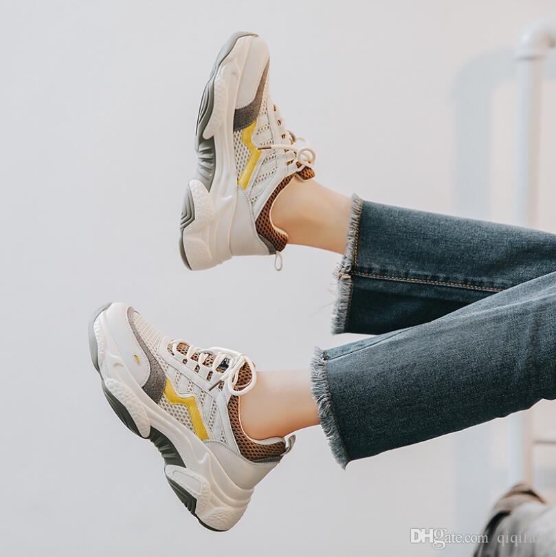 sneakers moda 2020 homens das sapatilhas sapatos casuais pai multicolor moda opcional