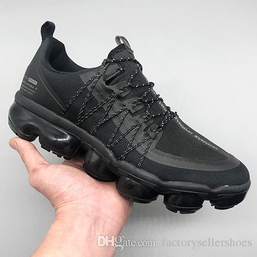 Nike Air Vapormax Flyknit Zapatillas Running Hombre Negro