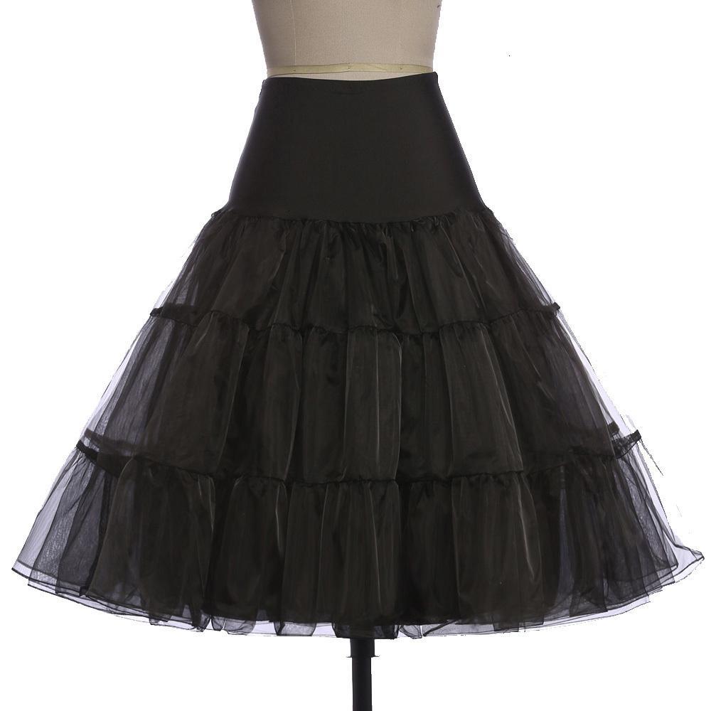 Gonne per le donne tutu Silps swing Rockabilly Petticoat sottogonna crinolina Fluffy Pettiskirt Per sposa le donne abito d'epoca