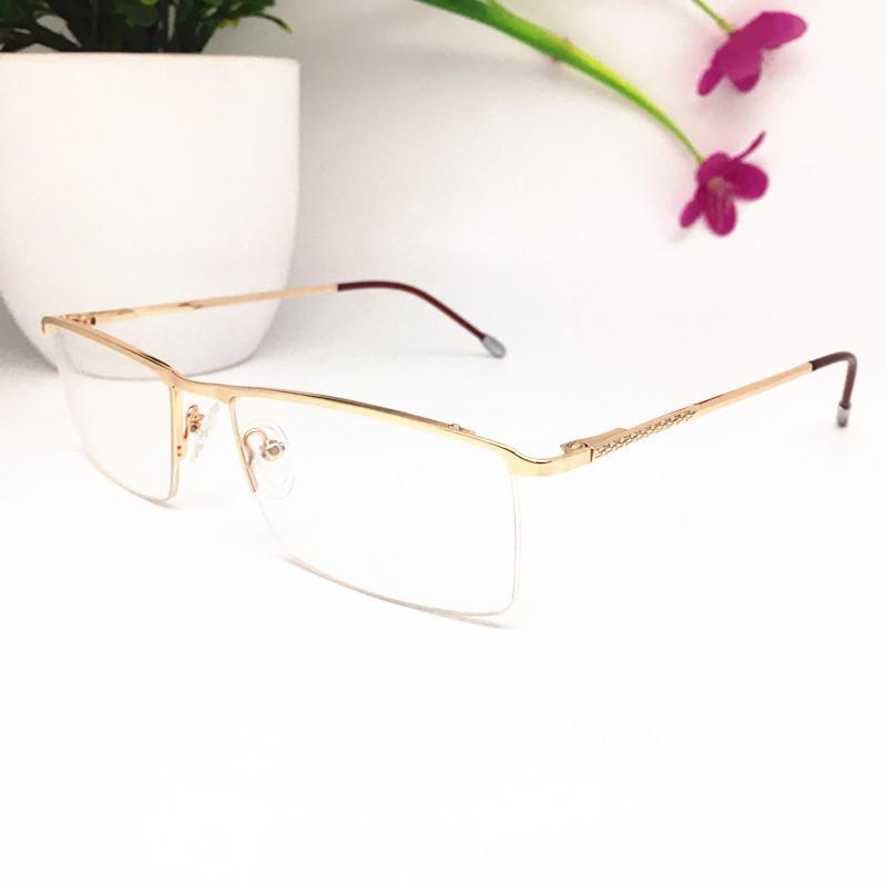 الرجال إطارات جديدة أعلى جودة العلامة التجارية تصميم بصري أزياء المرأة خمر معدنية نظارات النظارات نصف إطار نظارات نظارات نظارات 6078
