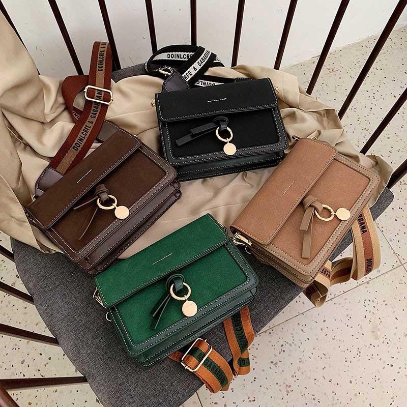 Donne Messenger Bag a tracolla della borsa di Crossbody della borsa della borsa di moda PU Borsa LLeather borsa delle signore Portafoglio