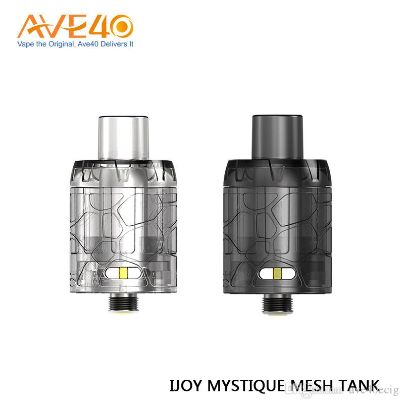 Original IJOY Mystique Mesh Tank 3ml Capacidad atomizador desechable para IJOY Mystique 162W Box Mod 3pc / pack