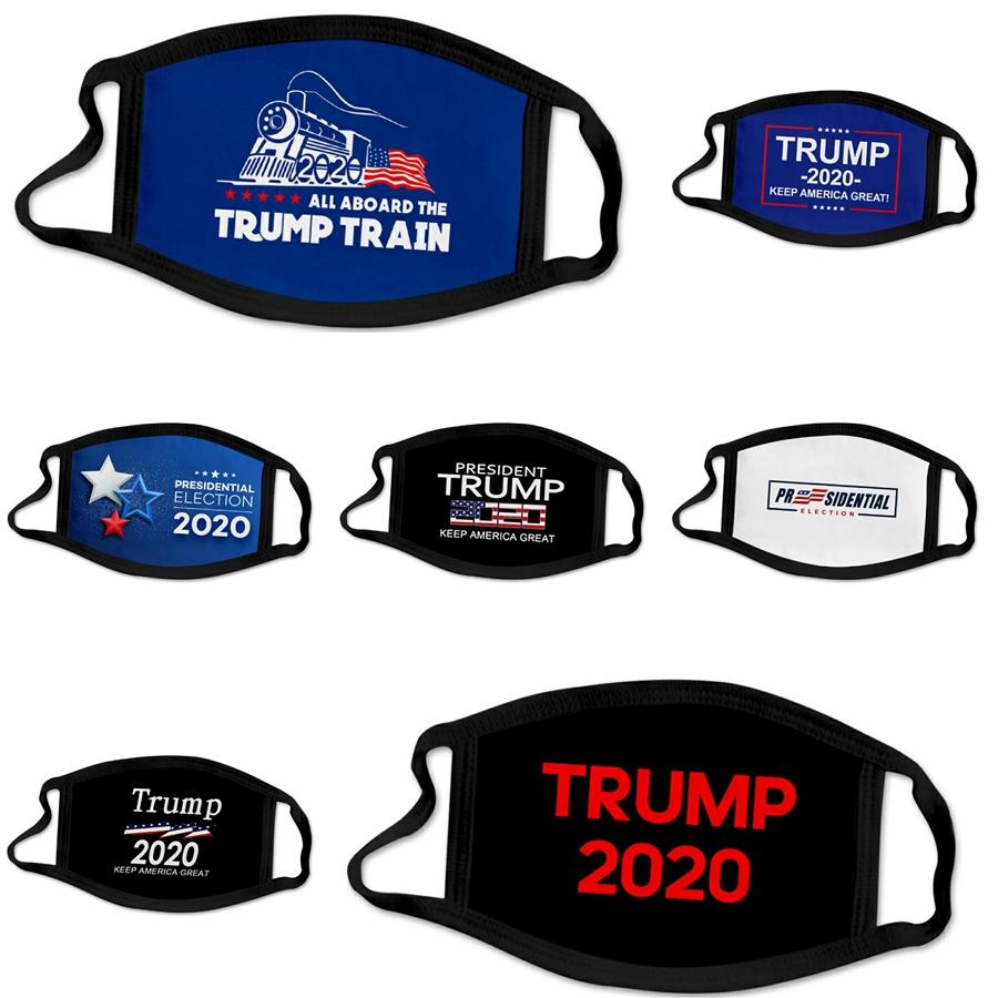 Luxo lavável Máscara Facial máscaras protetoras Boca er Designer Trump Ultravioleta-Proof Dustproof Boca-Muffle Cycling Sports Boca Máscaras # 822