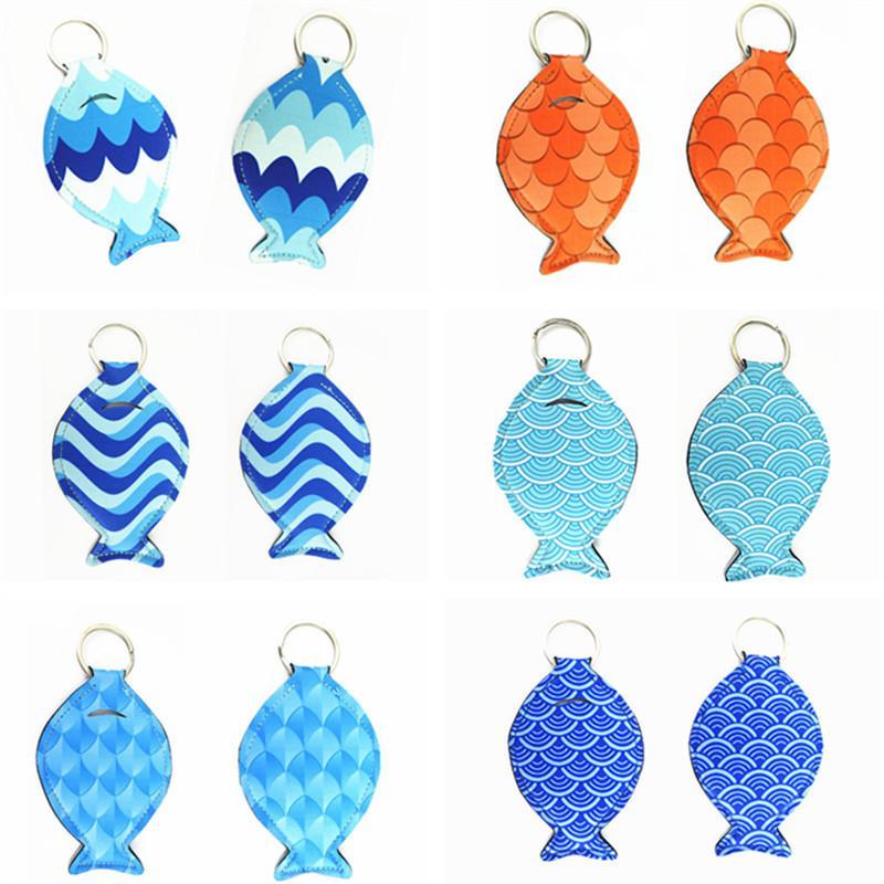 Мода Fat Fish Keychains Светоотражающих серьги ныряльщики брелоки Key Chain Рыба Подвеска Брелки Симпатичные Брелоки аксессуары Подарки INS