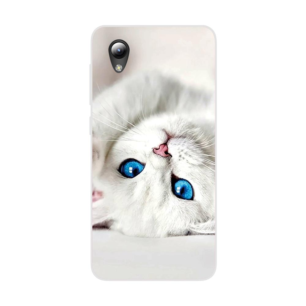 Silicone Cover for ZTE Blade A3 2020 L8 5.0inch Case Soft TPU Protective Back Case Bumper Shell