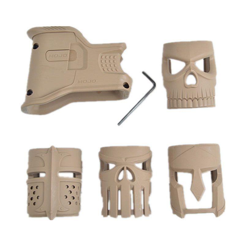 AEG M4 M16 AR15 시리즈 에어 소프트 액세서리 balck의 모래를 들어 4 개 모조 매기 잘 그립
