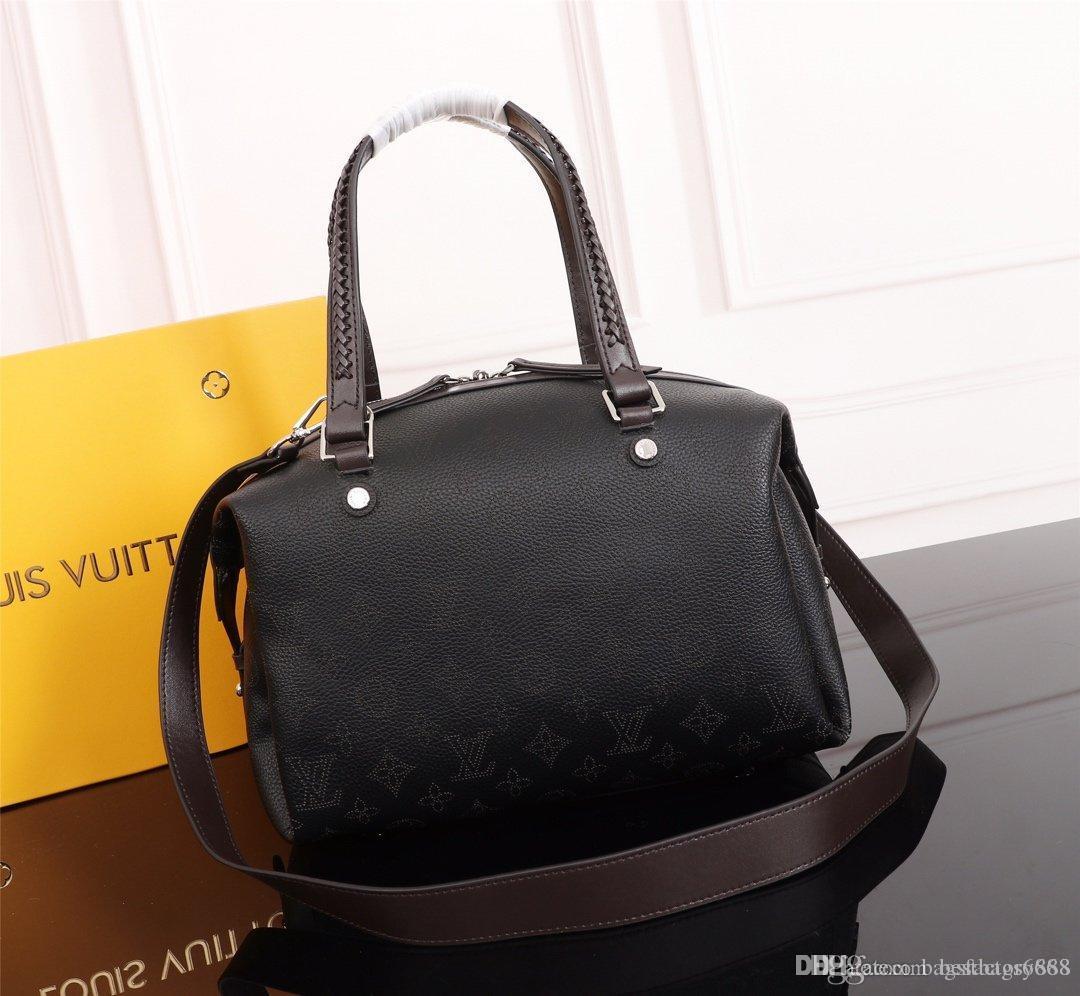 Heißer Verkauf Designer Mahina Asteria Frauen Lederhandtasche Messenger Einkaufstasche Schultertasche einkaufen Taschen Totes Cosmetic Bag