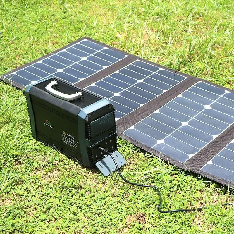 AC 110V/220V 93600mAh Portable Solar Generator Inverter UPS Pure Sine Wave Powers Supply USB Outdoor Energy Storage