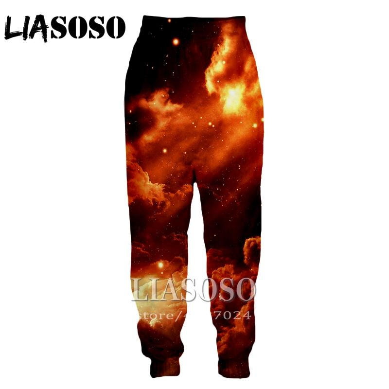 3D Print Casual trousers Men Women Sweatpants Jogging Pants Space Galaxy Starry