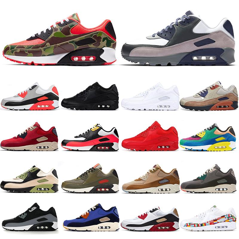 Running Shoes Mens Sneakers Triple