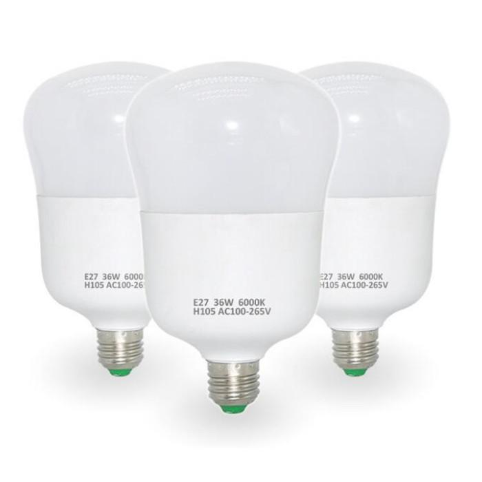 Led E27 Light Bulb 46w 36w 28w 18w 100lm /W Ac85 -265v Plastic -Al Lamps Warm White Cri &Gt ;80ra Indoor Lighting Direct From Shenzhen China
