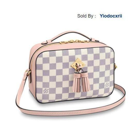 yiodocxrii 4QEP Camera Bag Saintonge Canvas Shoulder Bag N40155, N40155 Totes Handbags Shoulder Bags Backpacks Wallets Purse