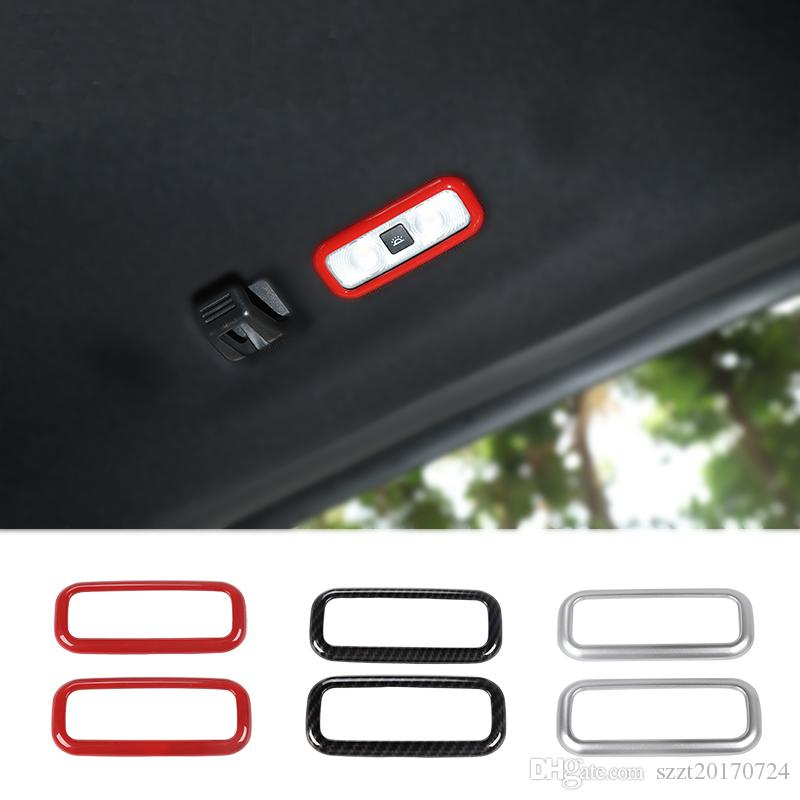 ABS Car Rear Reading Lamp Ring Decoration Cover For Ford F150 2016 UP Car Styling Accessories
