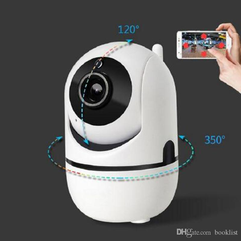 2019 البائع الأعلى! المسار التلقائي 1080P كاميرا مراقبة الأمن مراقبة واي فاي اللاسلكية البسيطة الذكية إنذار CCTV كاميرا داخلي شاشات الطفل