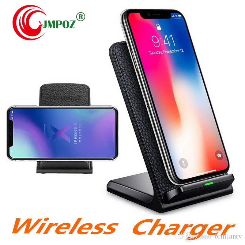 Wireless Charger for Samsung S6 S7 Edge S8 S9 Plus Note 9 8 Fast Charging Dock Stand Desk for iPhone X 8 QI Wireless Chargers