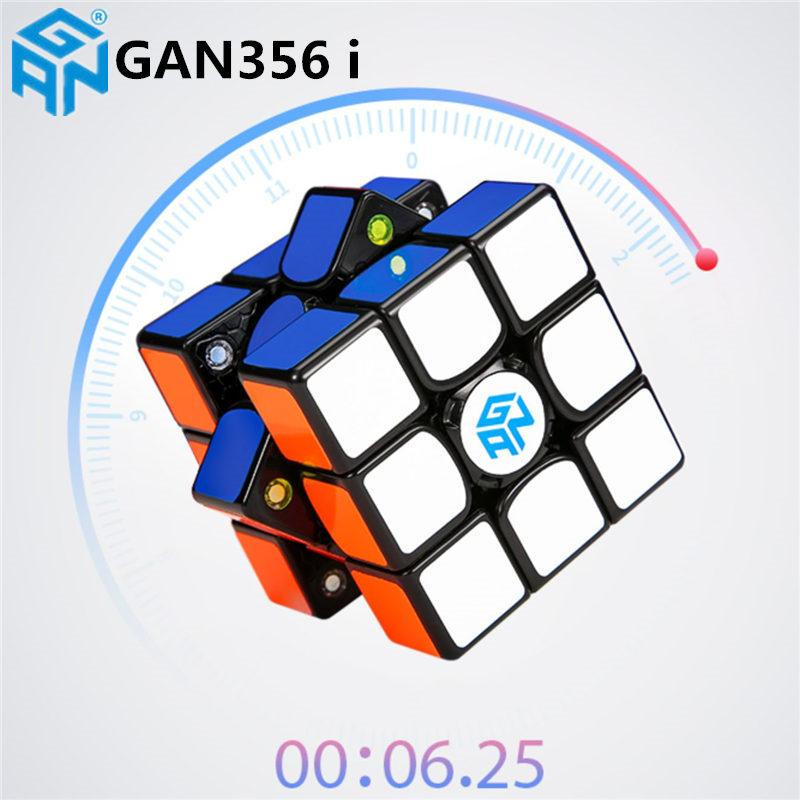 Original GAN356 i Speed Magic Cubes Professional Sticker Gan 356i Play Cube Online Competition Magnets Cube GAN 356i Cubo Magico Y200428