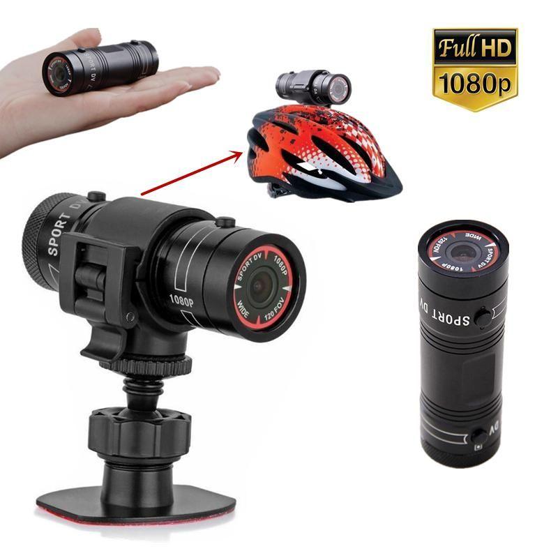 Wholesale 5pcs Mini Bike Waterproof Camera HD Motorcycle Helmet Sports Action Came Video DV Camcorder Full HD 1080p Car Video Recorder