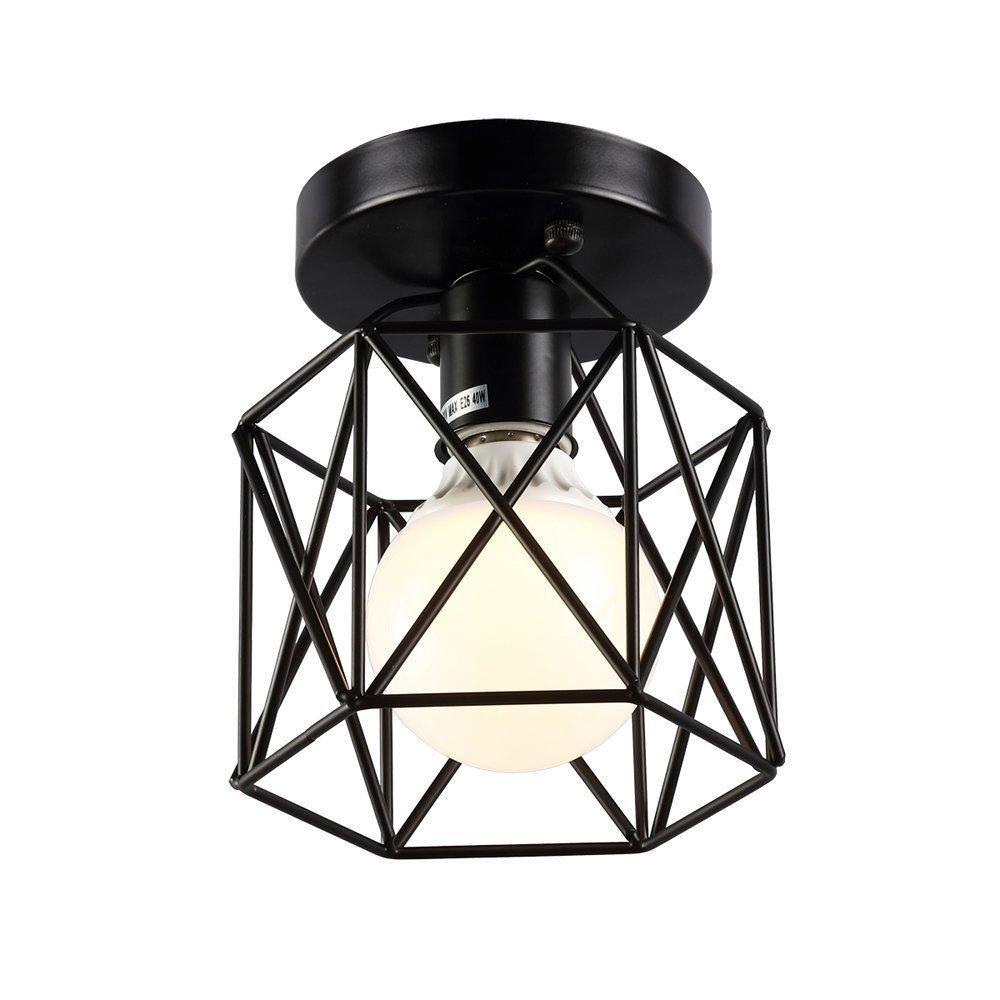 ريترو خمر ضوء السقف راحة الصناعية مصباح السقف المعدنية راحة الإضاءة لاعبا اساسيا ضوء لغرفة المعيشة مصباح luminiare معان
