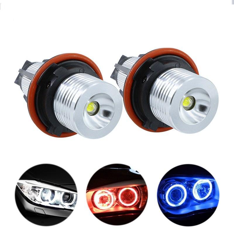 10쌍 LED 천사 눈 빛 BMW E39 E53 E60 E61 E63 E64 E65 E66 E87의 525i 530i XI 545i