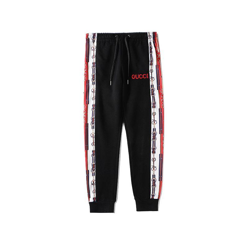 2020 des femmes des hommes Brandpants Designerpants mode taille élastique lâche Jogger pantalons longs lettres Motif Longueur pleine Pantalon A1 2022806V