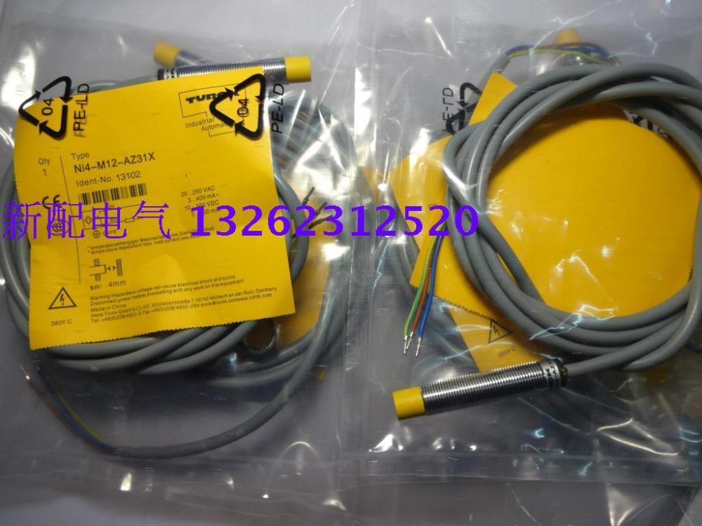 NI4-M12-AZ31X AC / DC Новый высококачественный датчик приближения Turck