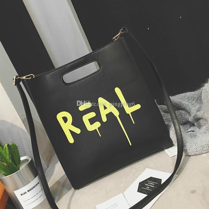 Ücretsiz Kargo Kadınlar Yeni Büyük Marka Ünlü Moda Alışveriş Çanta Omuz Bolsa Çanta 2019 Çanta Peqlw