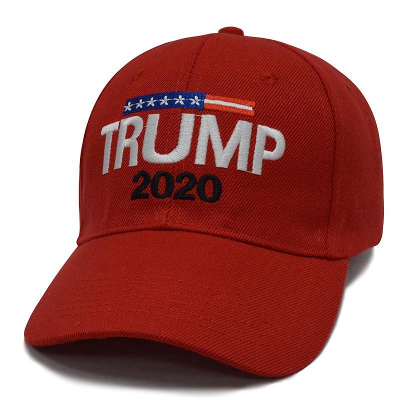6 stili Trump 2020 cappelli cappello di sport del ricamo 3D regolabile Berretto da baseball all'aperto della spiaggia di estate Cappelli ZZA2117