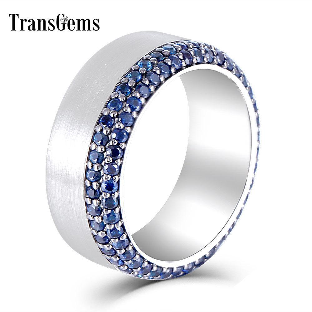 Details about  /925 Sterling Silver Blue Sapphire Ring 5 mm Round Ring 925 Silver Sapphire Ring