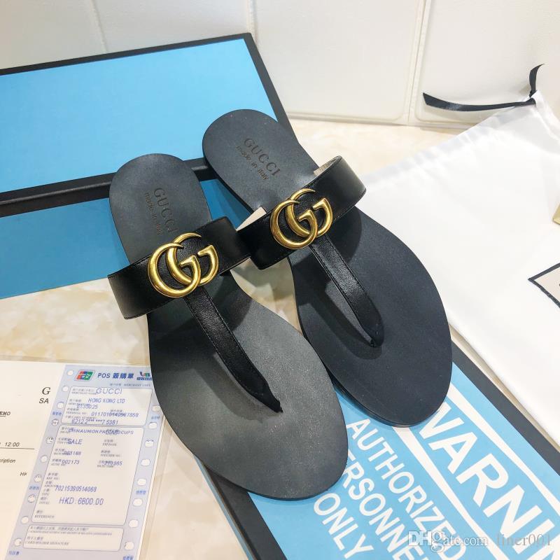 Famoso pistoni casuali delle signore del progettista di moda, signore di alta qualità flip-flop, il commercio all'ingrosso libero